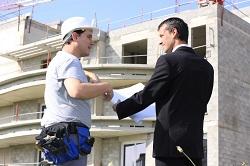 conversation sur le chantier