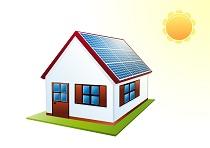 Casa con Pannelli Solari 2